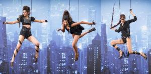 Superhero Photoshoot for India's Next Top Model