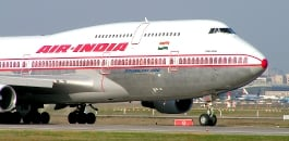 Air India 125 overweight