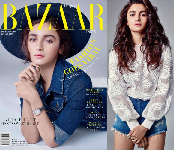 Alia Bhatt, has just graced the September issue of Harper's Bazaar India