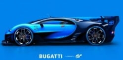 Bugatti Vision is a real car for Gran Turismo