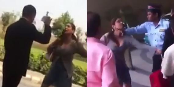 Pooja Misrra replies to Hotel staff slap video