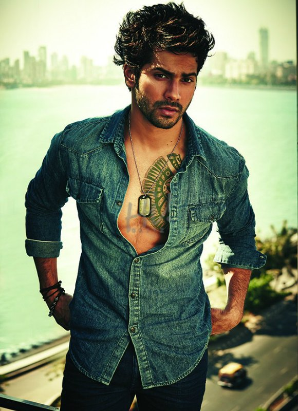 GQ has a new front man on their latest issue, with Varun Dhawan posing on the cover of the September Style Special Indian edition.