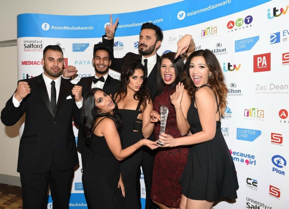 Popular reality TV show, Desi Rascals, won Best TV Show.