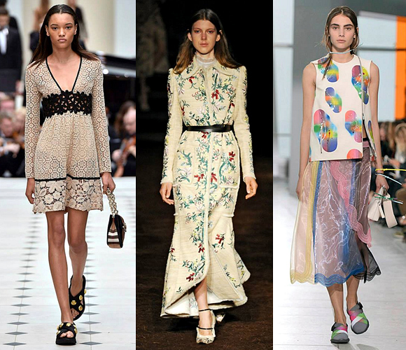 London Fashion Week Spring/Summer 2016 Highlights