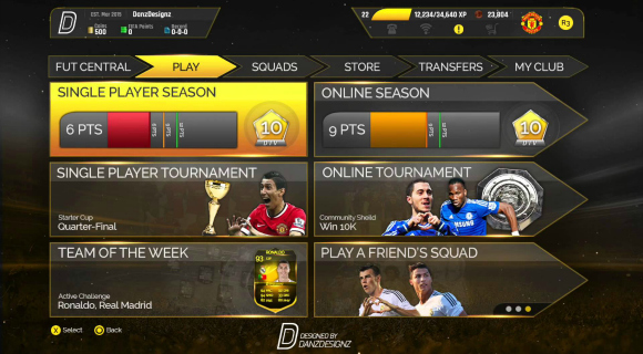 While PES 2016 menu interface feels more straightforward and clearer to follow than FIFA, this also comes at the price of it being lighter in the content available.