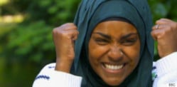 Nadiya wins The Great British Bake Off 2015