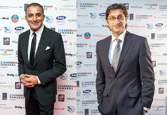 Winners of the GG2 Leadership Awards 2015