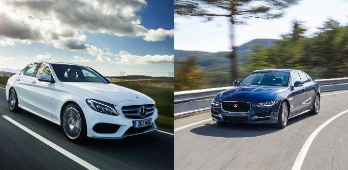 Jaguar XE vs Mercedes C-class ~ Ultimate Saloon