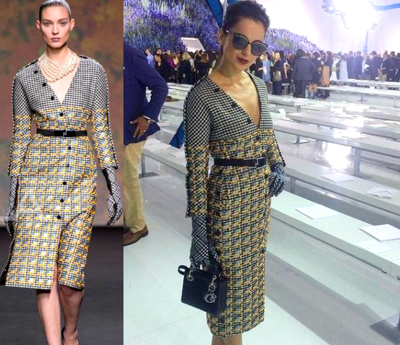 Kangana Ranaut at Paris Fashion Week
