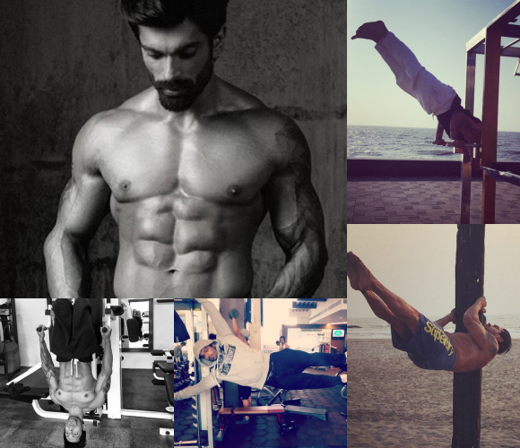 Karan Singh Grover Working Out