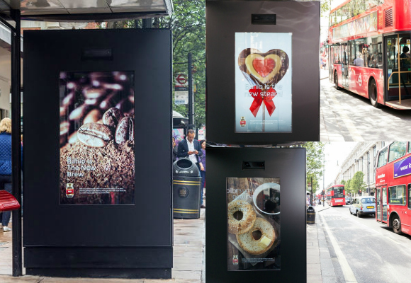 'The World's First-Ever Artificial Poster Campaign' is born, using facial recognition technology.