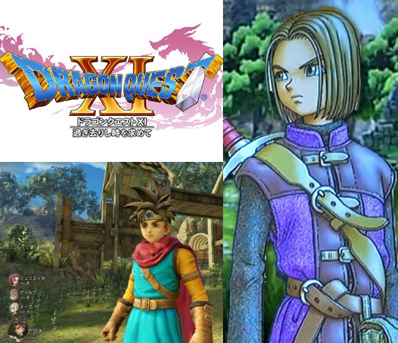Square Enix announced Dragon Quest XI would be released for 3DS, PS4 and NX
