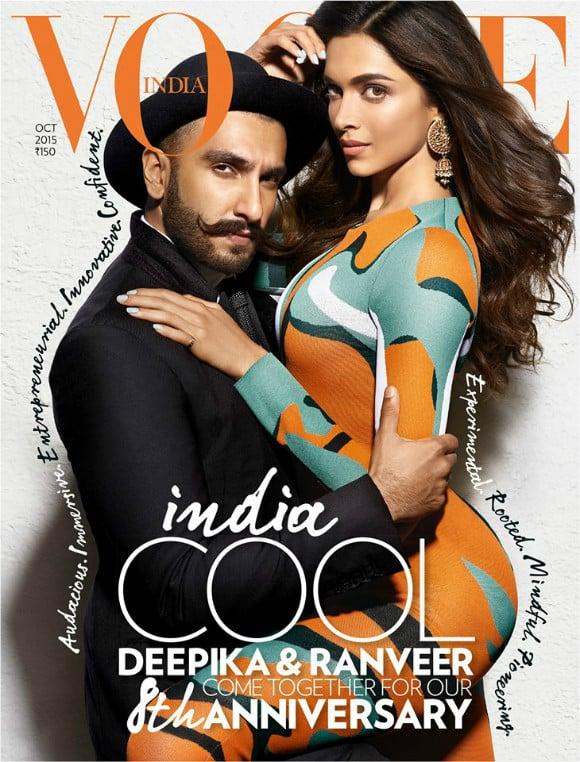 Deepika and Ranveer get Intimate for Vogue India