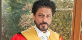 SRK receives Honorary Degree from University Of Edinburgh