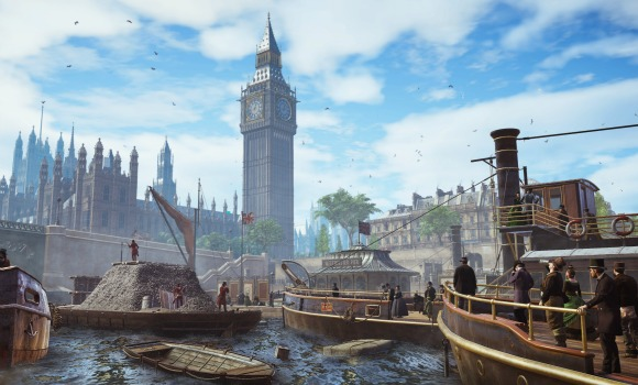 Assassin's Creed Syndicate takes place in London 1868 at the height of the Industrial Revolution.