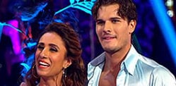 Anita and Gleb Sambalicious on Strictly Come Dancing