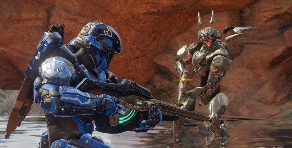 Everything in Halo 5: Guardians has a multiplayer component, including the story mode.