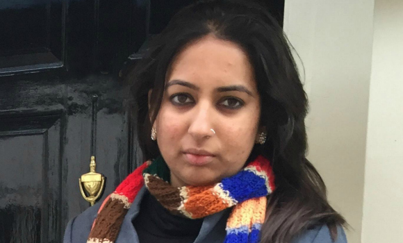 Indian law student, Chiteisri Devi, has lost her life savings in a housing scam in London.