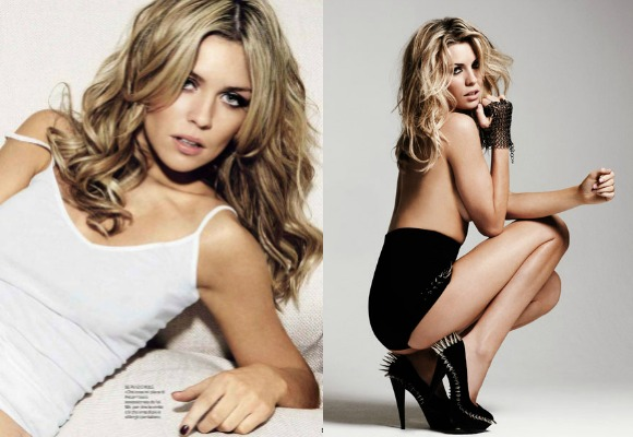maybe Crouch's wife and sizzling supermodel Abbey Clancy, has her sight on Bollywood for a glamorous debut!