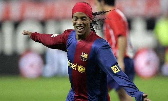 Ronaldinho brings joy to the competitive game of football through his techniques and everlasting smile.