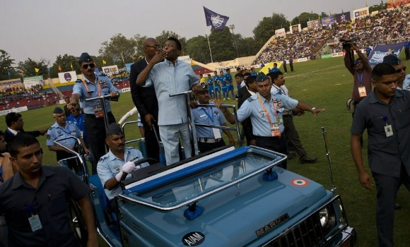 On October 11, 2015, Brazilian football legend Pelé revisited Kolkata