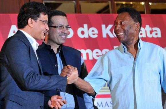 On October 11, 2015, Brazilian football legend Pelé revisited Kolkata