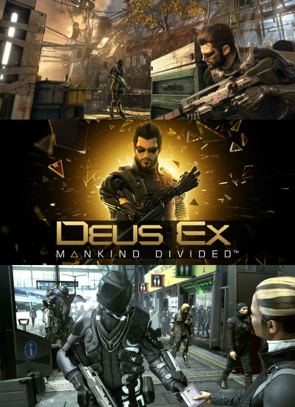 Mankind Divided looks to continue these themes, once again putting players in the shoes of reluctant corporate soldier Adam Jenson
