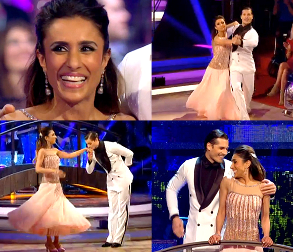 Anita and Gleb Quickstep elegantly on Strictly