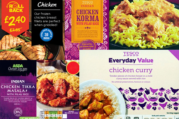 Asda's Curry Makers go into Administration