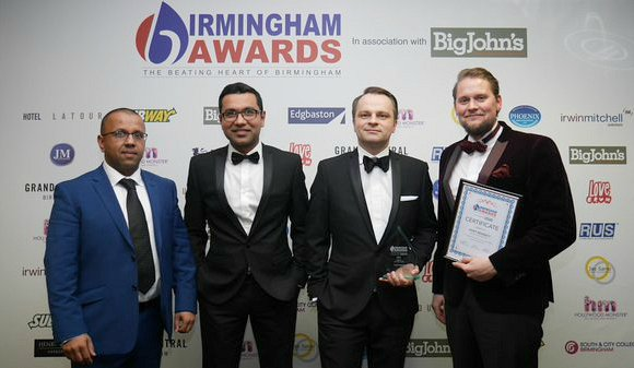 Winners of The Birmingham Awards 2015