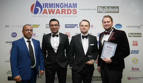Winners of The Birmingham Awards 2015