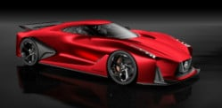 Nissan goes Fiery Red with Vision Gran Turismo
