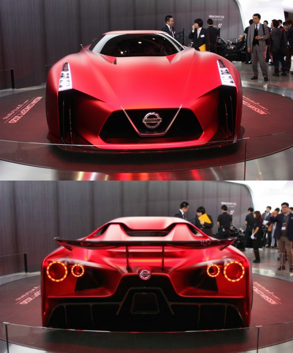 Nissan goes Fsiery Red with Vision Gran Turismo