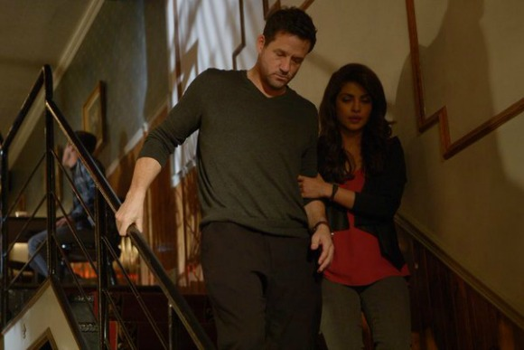 Priyanka Chopra is caught in Love Triangle in Quantico