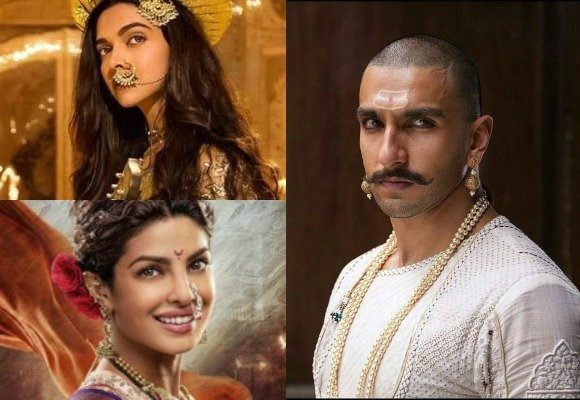 Deepika and Ranveer are epic in Bajirao Mastani trailer