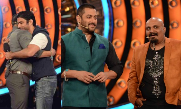 Salman Khan gets Flirty in Bigg Boss 9