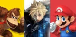 Final Fantasy VII's hero joins Super Smash Bros