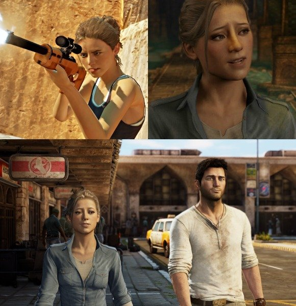 Elena Fisher in Uncharted