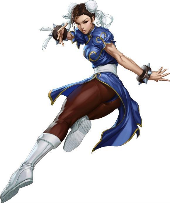 Chun Li in Street Fighter