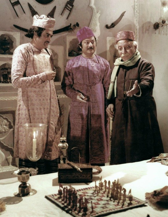 He worked with Richard Attenborough in his next venture, Shatranj Ke Khiladi or The Chess Players (1977).