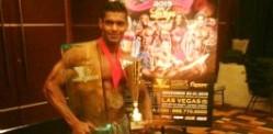 Pakistan's Salman Ahmad wins Mr Musclemania World