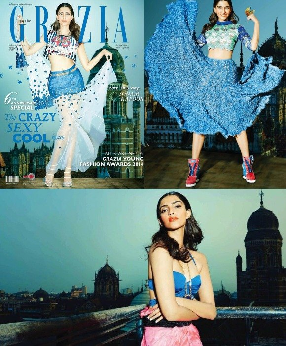 Sonam is a favourite for the folks at Grazia India