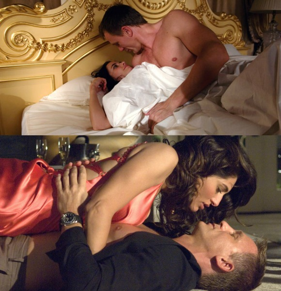 Casino Royale, also faced a similar issue in 2006 when some of the love scenes were reportedly 'trimmed'.