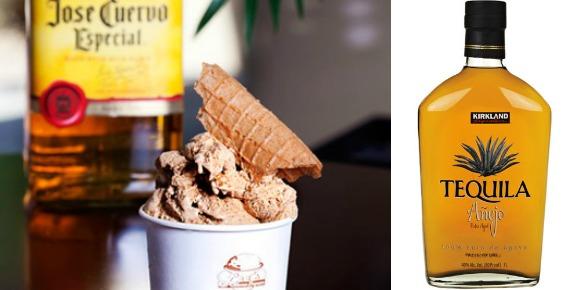 tequila ice cream