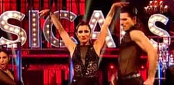 Anita and Gleb Argentine Tango scorches on Strictly