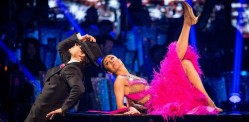 Anita and Gleb Foxtrot to a Salsa on Strictly