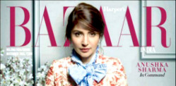 Anushka Sharma goes Floral for Harper's Bazaar