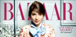 Anushka Sharma goes Floral for Harper's Bazaar