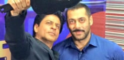 SRK and Salman celebrate Friendship on Bigg Boss 9