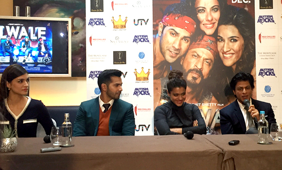 Dilwale team come to London!